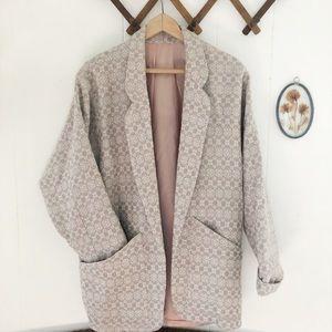 Vintage Wool Dolman Sleeve Jacket